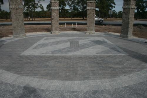 Ft. Stewart Memorial w/ Logo Inlay
