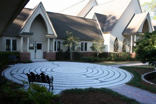 Custom Labyrinth Pavers