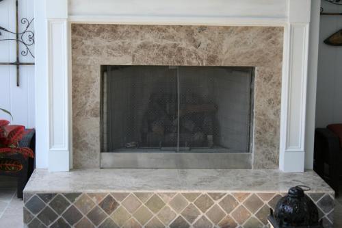 Emperdor Light Marble Fireplace Surround
