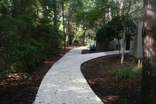 limestone cart path